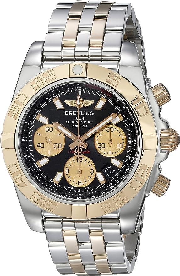 Breitling CB014012 BA53 Montre Bracelet Homme Bicolore