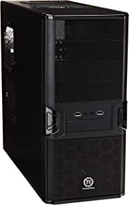 Thermaltake Black V3 Mid Tower Case with 450W Power Supply (VL84521W2U)