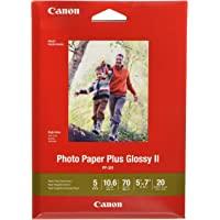 "CanonInk Photo Paper Plus Glossy II 5"" x 7"" 20 Sheets (1432C002)"