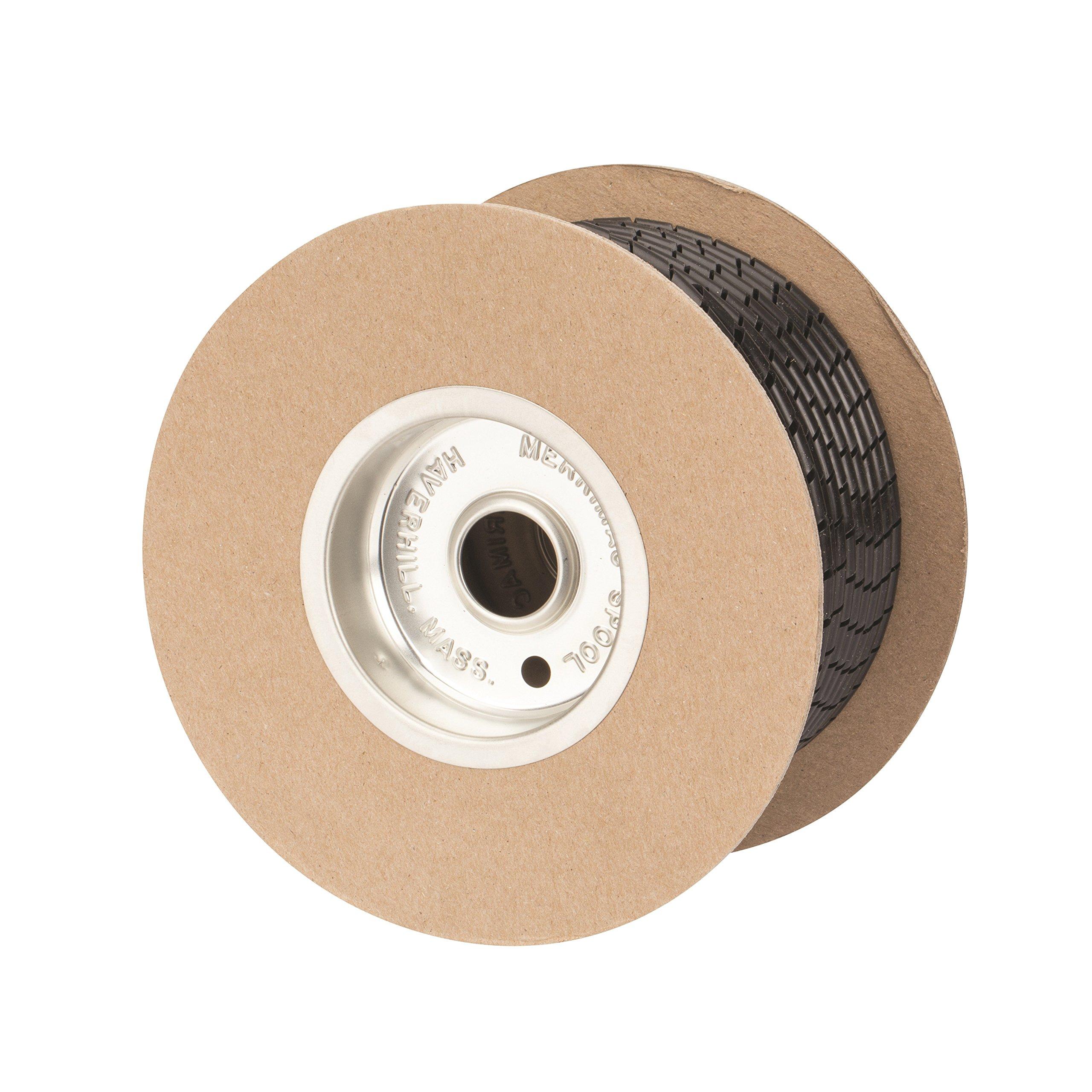 UV Polyethylene Spiral Wrap Cable Harness, 0.236'' OD x 0.157'' ID, 0.157'' - 1.97'' Bundle Range, Black by NSI (Image #3)