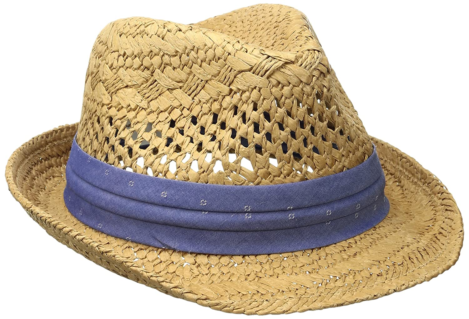 Original Penguin Mens Vented Straw Fedora