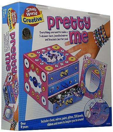 Amazoncom Small World Toys Creative Pretty Me Jewelry Box Craft