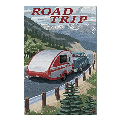 Road Trip - National Park WPA Sentiment (Premium 1000 Piece Jigsaw Puzzle for Adults, 20x30, Made in USA!): Toys & Games [5Bkhe0200334]