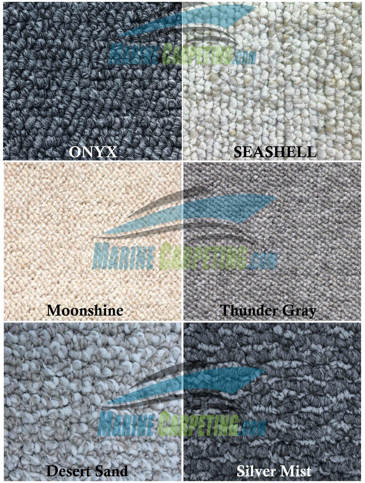 2003-2007 Sea Ray 320 Sundancer 3-Piece Berber Replacement Carpet Set