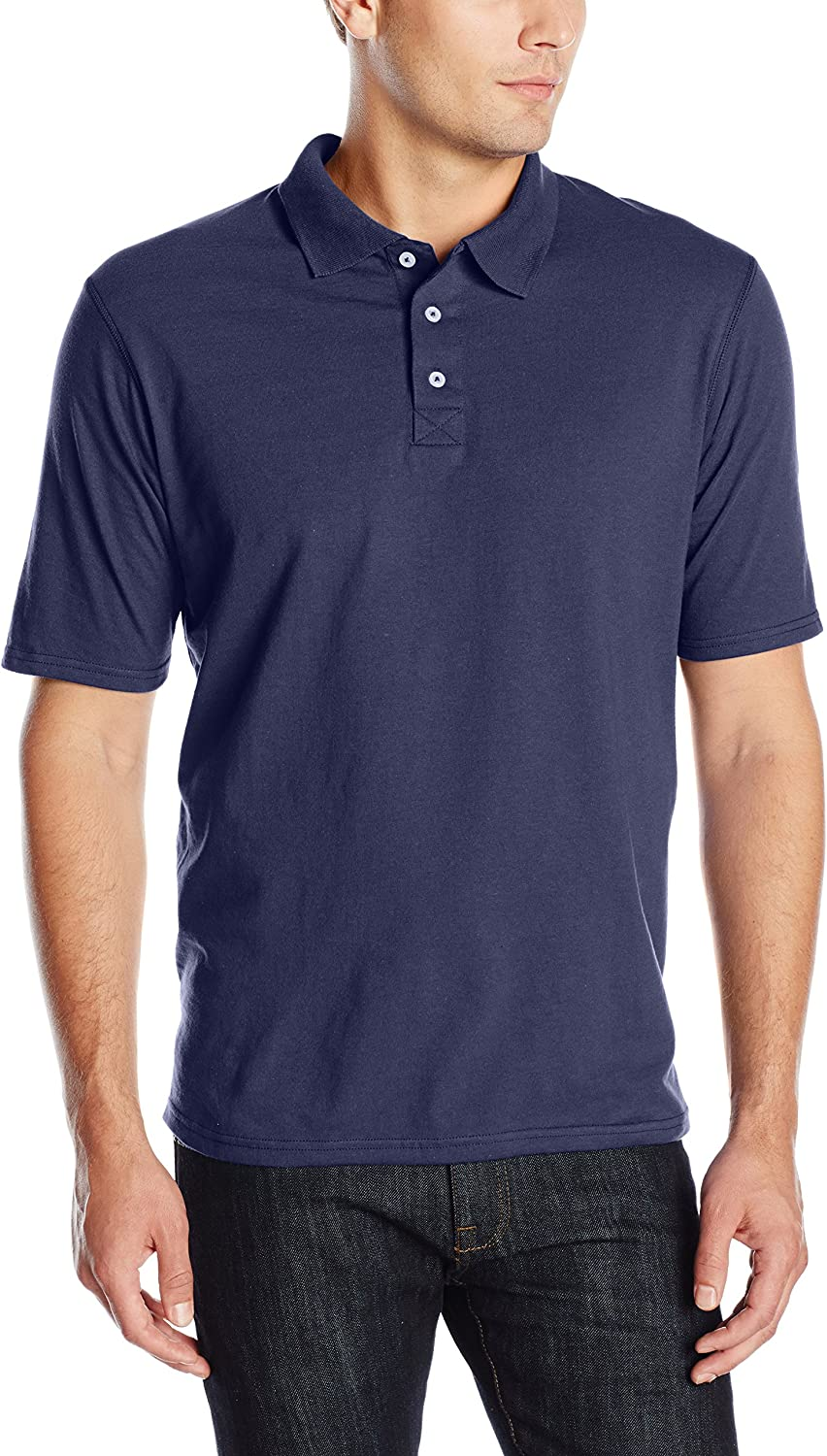 Hanes Men's X-Temp Performance Polo Shirt (1 Pack or 2 Pack)