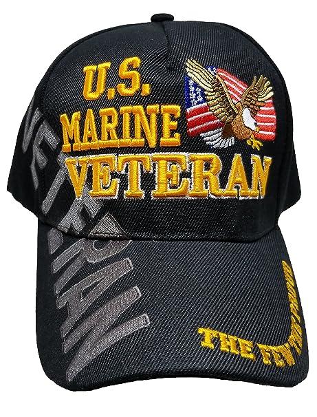 0dd05c332c4 Buy Caps and Hats U.S. Marine Veteran Cap US USMC Black Hat United States