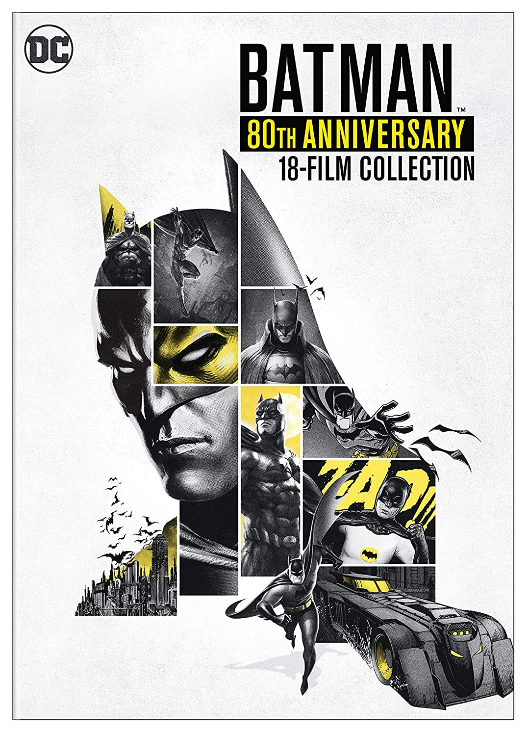Batman: 80Th Anniversary Collection 6 Dvd Edizione: Stati ...