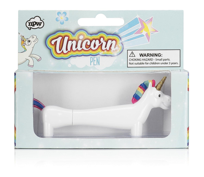 NPW - Decoració n para lá pices, diseñ o de unicornio, color Pots diseño de unicornio TGO NPW53180