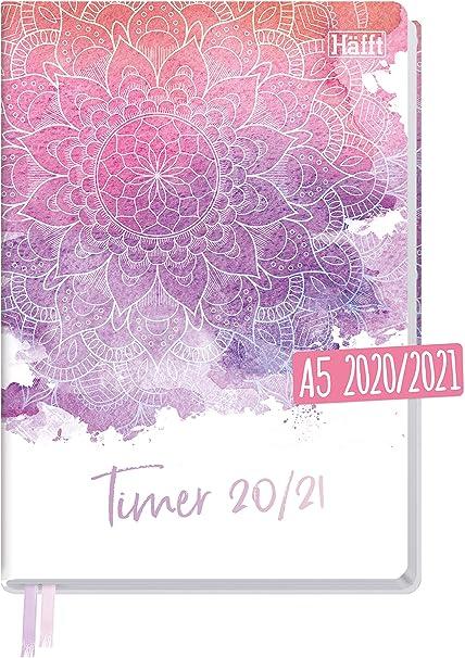 Häfft Timer 2020/2021   Calendario scolastico con copertina rigida