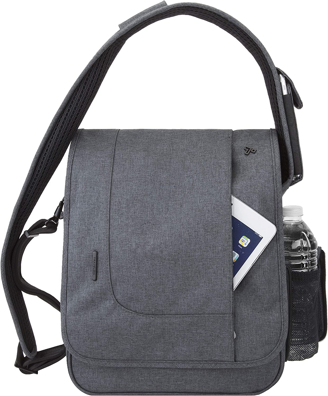 Travelon Anti-Theft Urban N S Messenger Bag – Slate