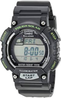 Casio Mens STL-S100H-1AVCF Tough Solar Runner Black Watch
