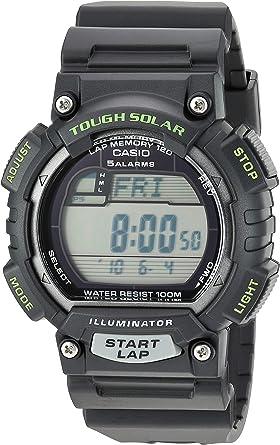 Casio STLS100H-1AV - Reloj Deportivo (51,4 x 45,4 x 12,7 mm, 40,3g ...