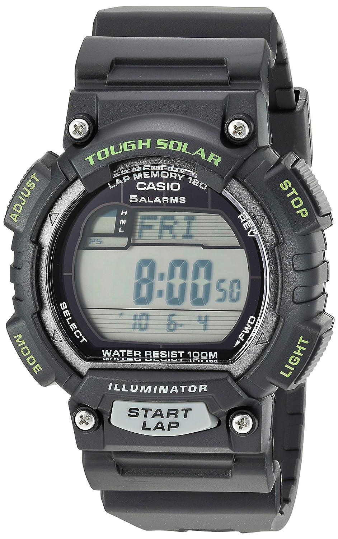 Casio Mens STL-S100H-1AVCF Tough Solar Runner Black Watch