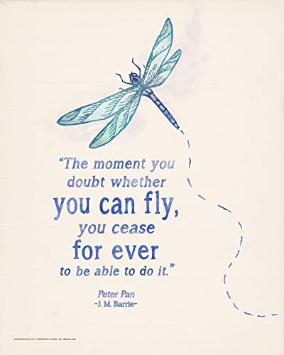 Amazoncom The Moment You Doubt Whether You Can Fly Inspirational