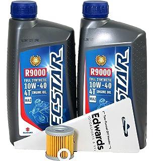 Amazon com: 1996-2009 Suzuki DR650SE Oil Change Kit: Automotive