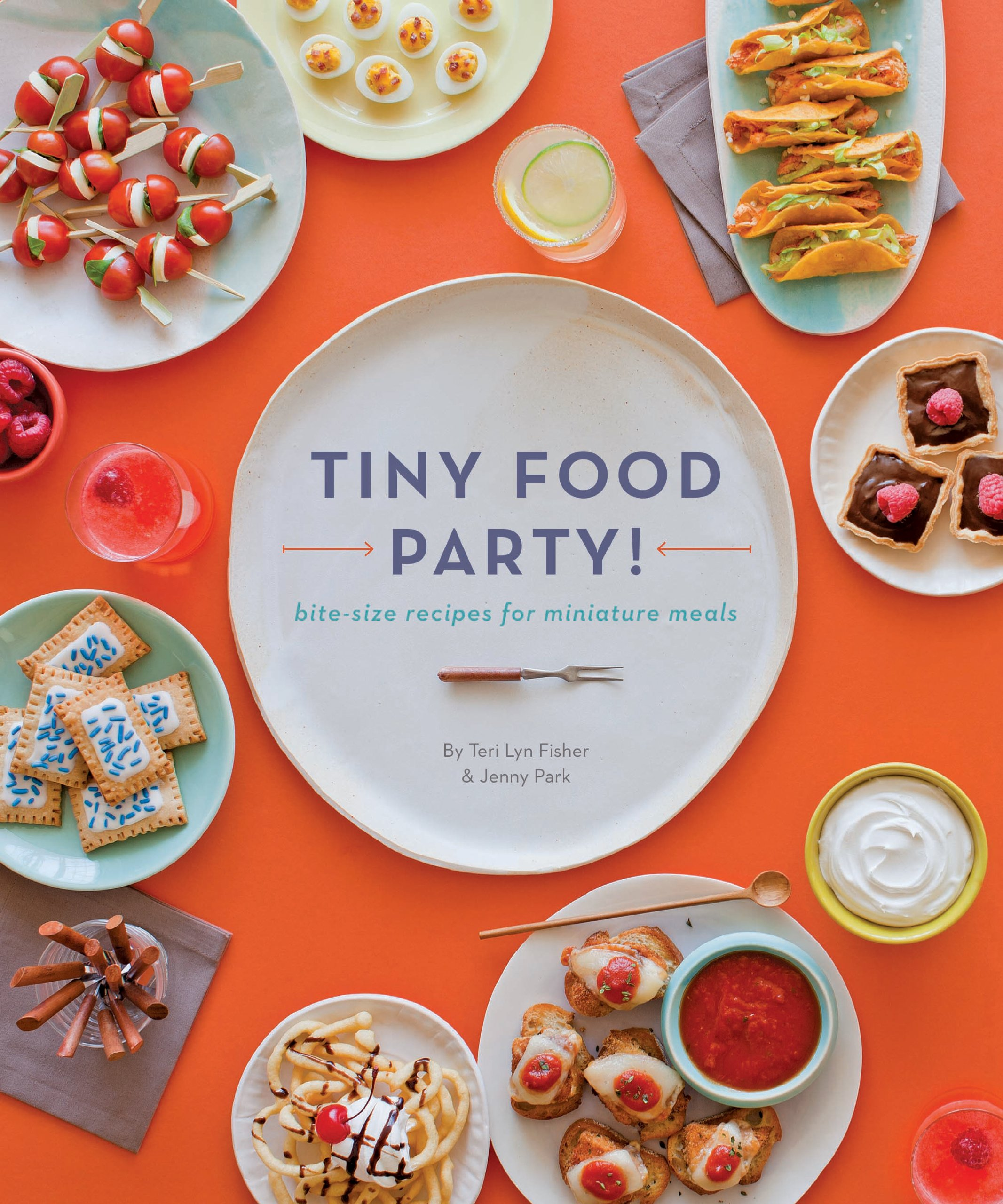 Pleasing Tiny Food Party Bite Size Recipes For Miniature Meals Teri Lyn Largest Home Design Picture Inspirations Pitcheantrous