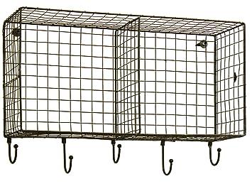 Honey U0026 Me 20u0026quot; X 10u0026quot; X 7u0026quot; Hanging Wire Basket Storage Shelf
