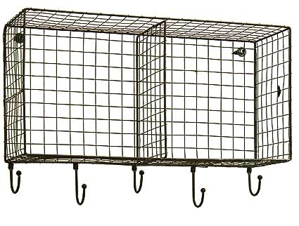 Amazon Com Honey Me 20 X 10 X 7 Hanging Wire Basket Storage
