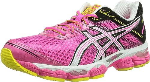 asics femme running rose