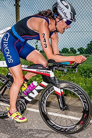 Sundried Dorsal Tatuaje Temporal fijado para el Triatlón Ironman ...