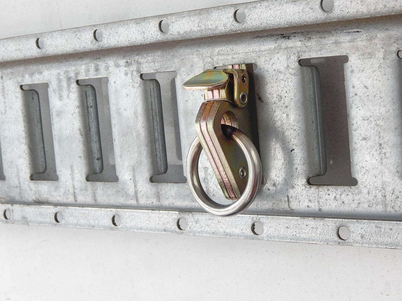 20 E Track Rope Rings Heavy Duty Cargo Van Hook Encllosed Utility Box Trailer