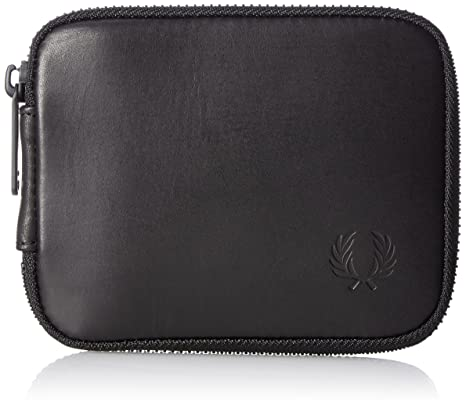 FRED PERRY (Fred Perry) F19829 - Cartera para hombre Negro Negro