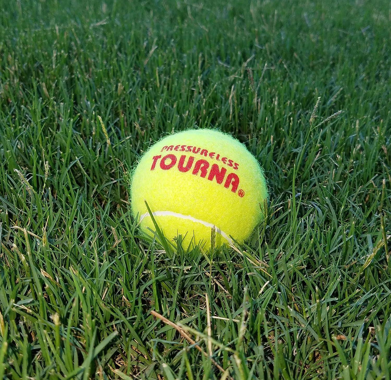 Tourna Mesh Carry Bag of 18 Tennis Balls: Sports & Outdoors