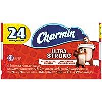 Charmin 99016 papel de baño ultra fuerte, 2 capas, 4 x 3.92 pulgadas, 71 hojas por rollo (paquete de 24)