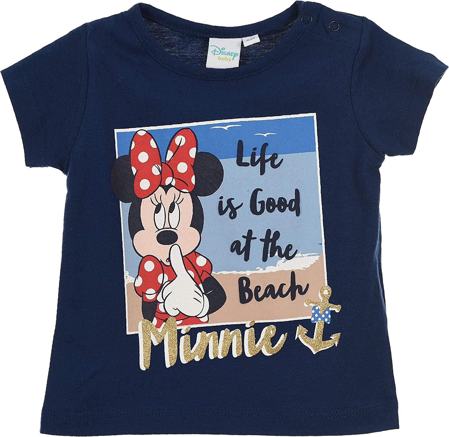 Minnie Mouse Baby-Girls Short Sleeves T Shirt