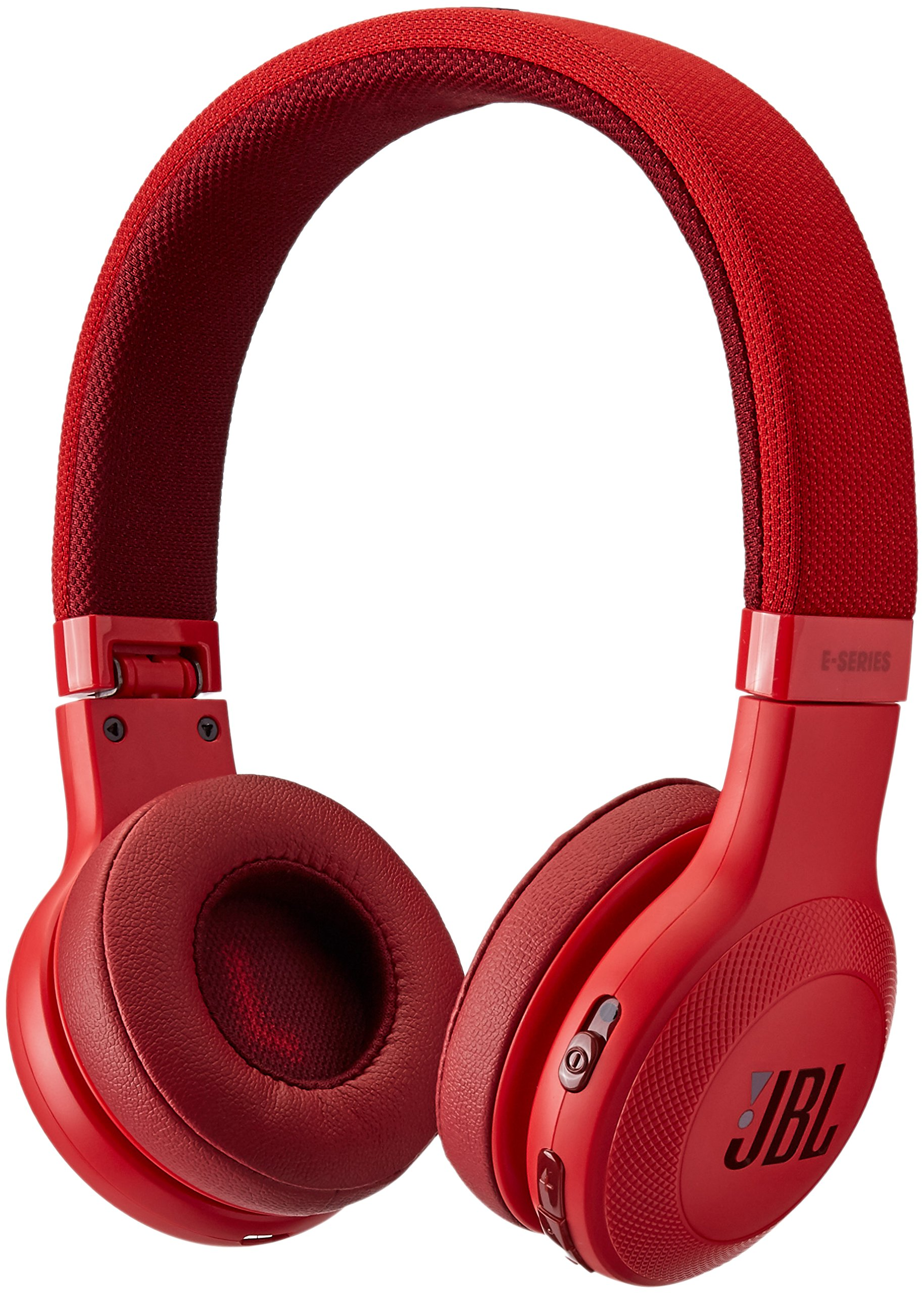 JBL E45BT On-Ear Wireless Headphones (Red) by JBL