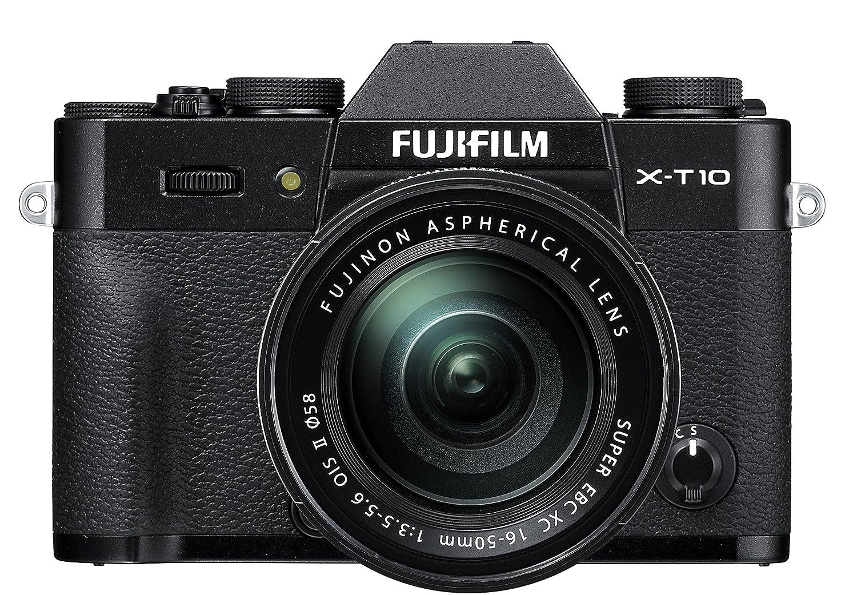FujiFilm XT-10 Black Mirrorless Digital Camera