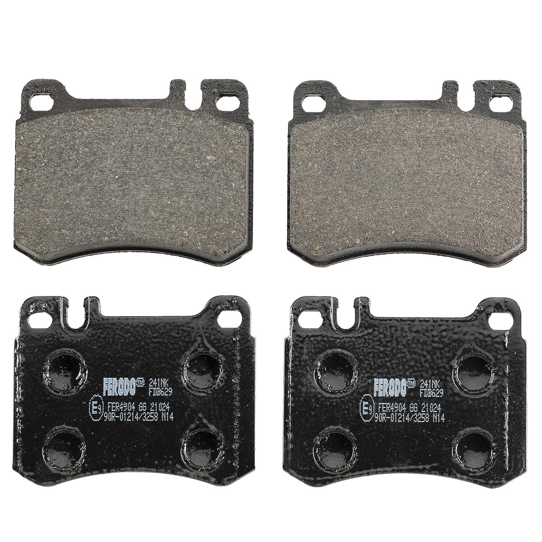 Ferodo FDB629 Low Steel Disc Brake Pad Set