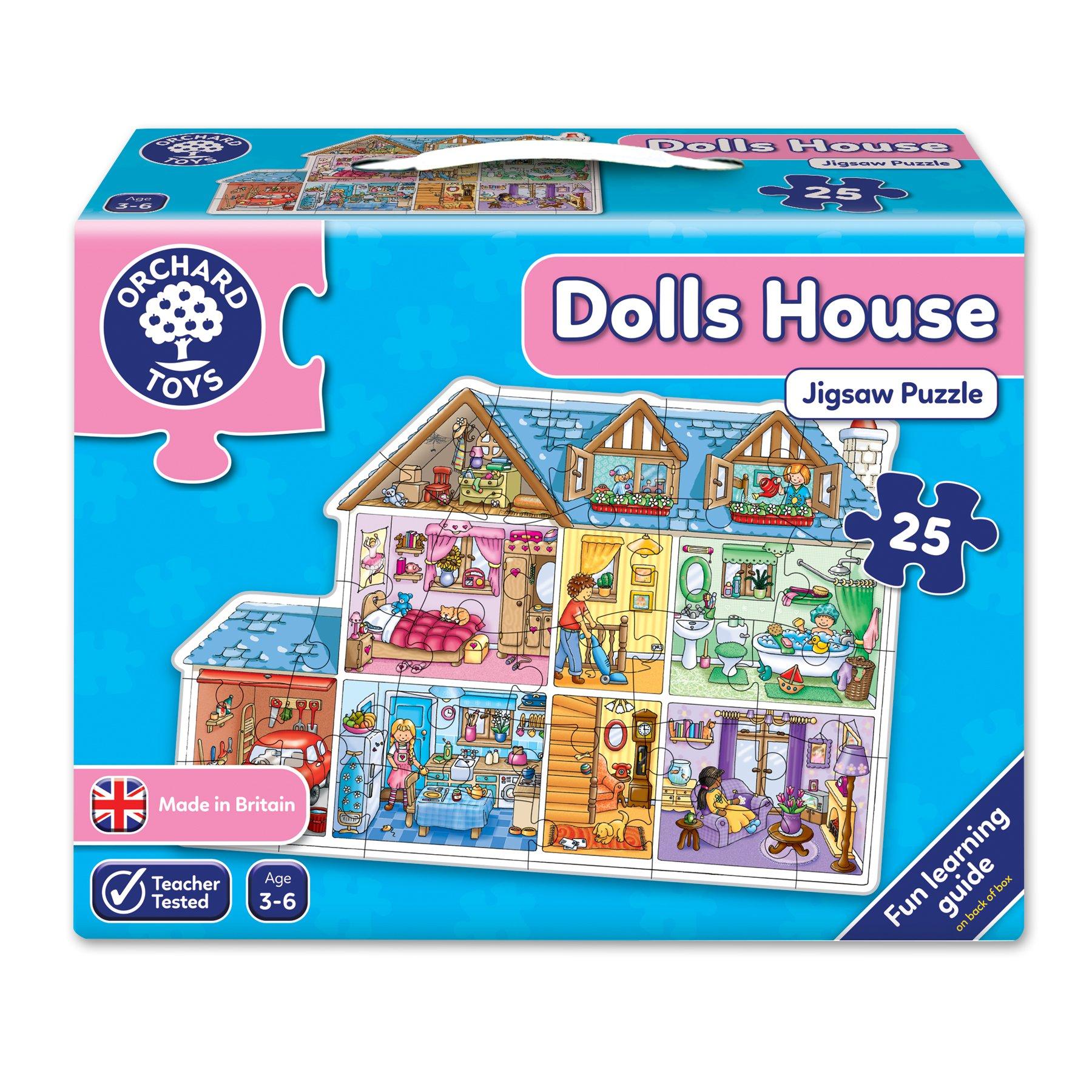 Orchard_Toys - Puzle de la casa de muñecas product image