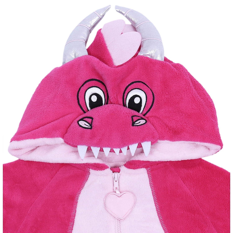 7266302387 Einteiliger rosa Schlafanzug Drachen PRIMARK: Amazon.de: Bekleidung
