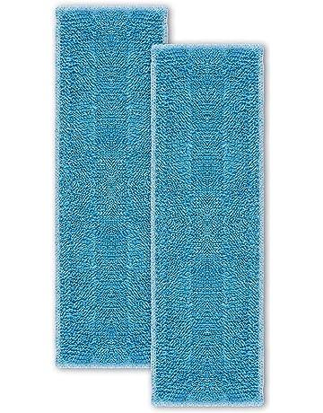 Polti PAEU0342 Kit de 2 paños, Microfibra, Azul
