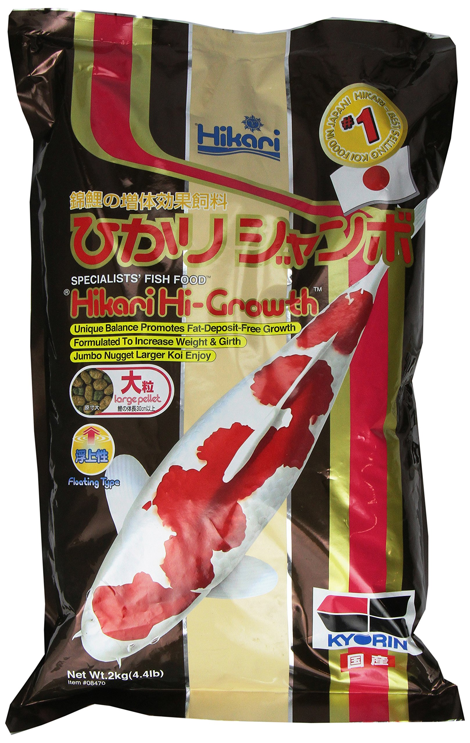 Hikari Usa Inc AHK08470 Hi Growth Large 4.4lb by Hikari Usa Inc.