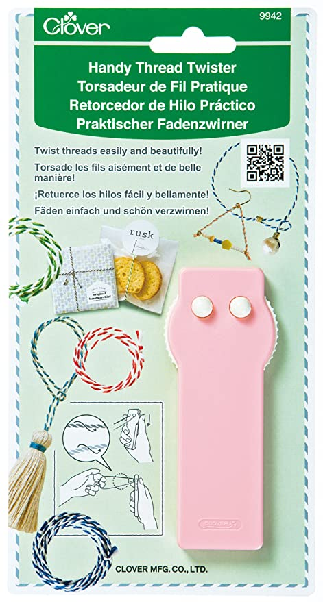 Clover Sewing Supplies Handy Yarn Twister 58-783