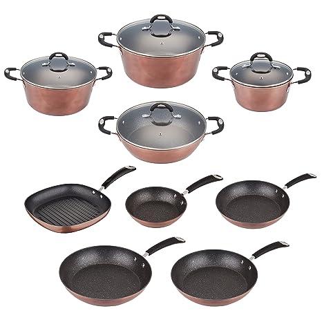San Ignacio - Top Kitchen: batería de Cocina Pack sartenes ø20/24/28 ...
