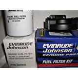 amazon.com: oem evinrude johnson brp fuel filter/water ... johnson fuel filter 2012 versa fuel filter