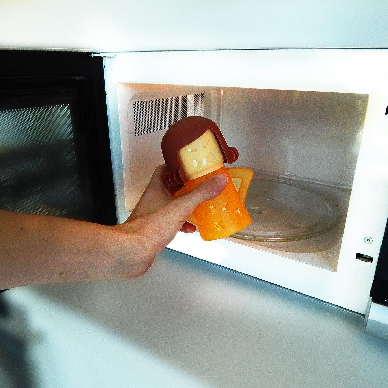 ANGRY MAMA® - Limpia el horno a microondas SIN DETERGENTE: Amazon.es