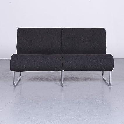Amazon Com Froscher Sitform Jurgen Lange Designer Sofa Stoff Grau