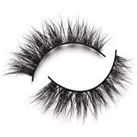 Lilly Lashes 3D Mink Rome | False Eyelashes | Dramatic Look and Feel | Reusable | Non-Magnetic | 100% Handmade & Cruelty-Free
