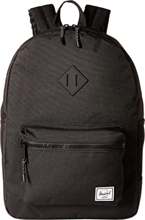 Herschel Kids  Heritage Youth XL Children s Backpack Black Rubber ... 47ec83f3ffb79