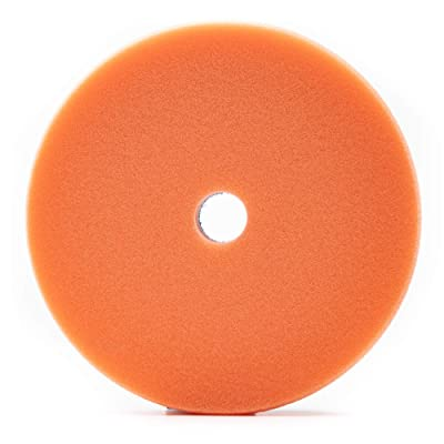 "Lake Country 6.5"" x 1"" HDO Orange Polishing Pad: Automotive"