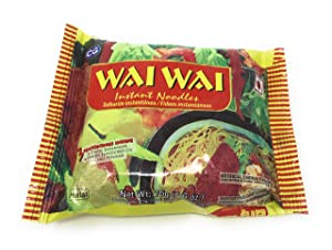 Wai Wai Nepali Instant Noodles by Chaudhary group (Box Pack of 30 Pcs) (Halal Chicken)