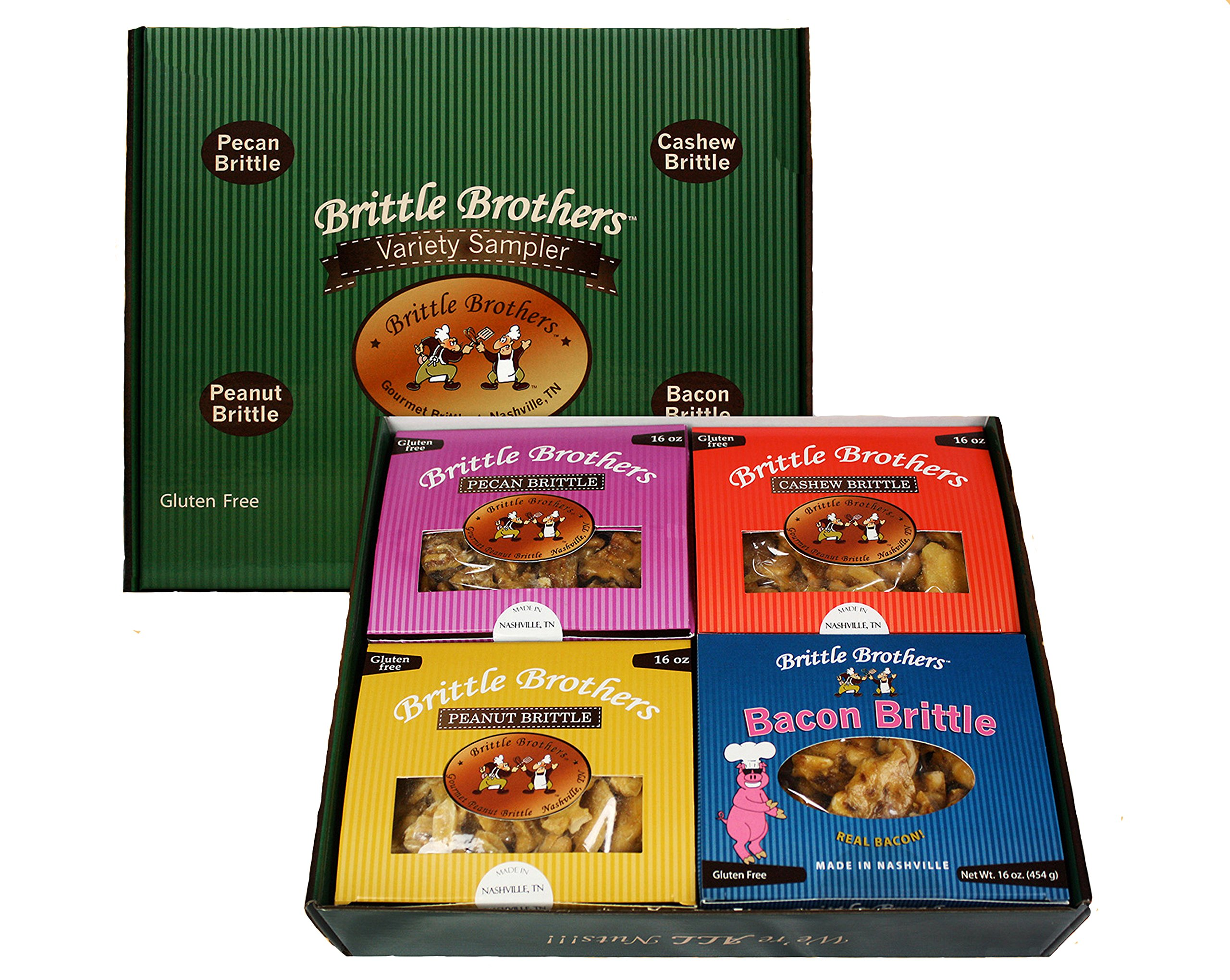 32 oz. Variety Sampler by Brittle Brother's