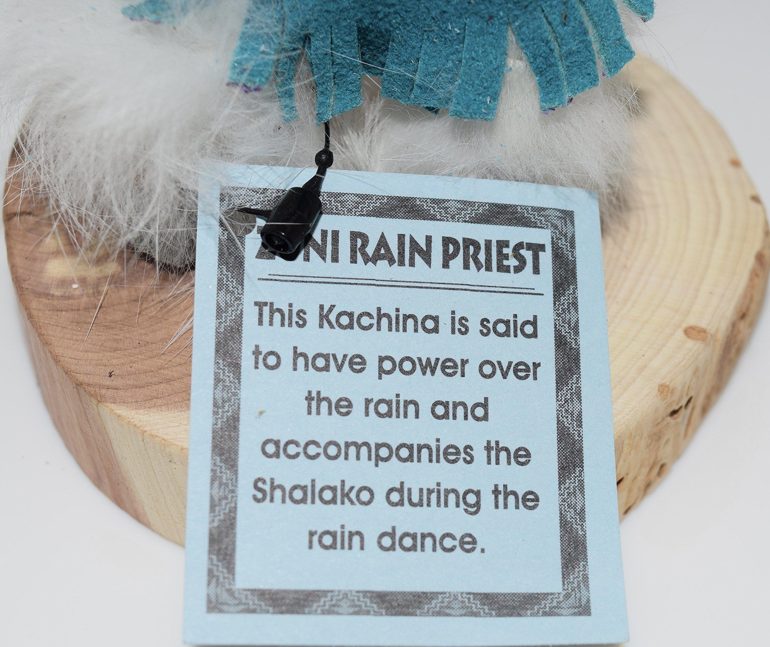 7 INCH Rain Priest Kachina by Kachina Country USA (Image #5)