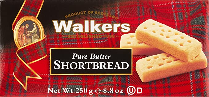 Walkers Shortbread Limited Shortbreads de Mantequilla - 250 gr