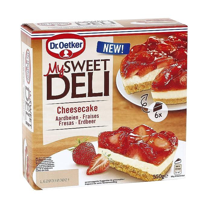 MSD Cheesecake de Fresas Dr. Oetker