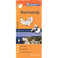 Normandy - Michelin Regional Map 513 (Michelin Regional Maps)